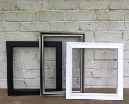 Set of 3 Frames available to hire
