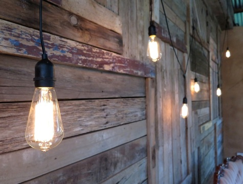 Edison Pendant String Lights to hire for events in Adelaide SA