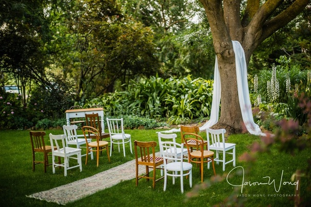 Mismatched Vintage Timber Chairs to hire for weddings and events in Adelaide SA