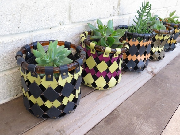 Original Handcrafted Leather Pot Holders